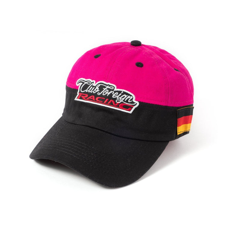 ClubForeign Racing Hat Hot Pink