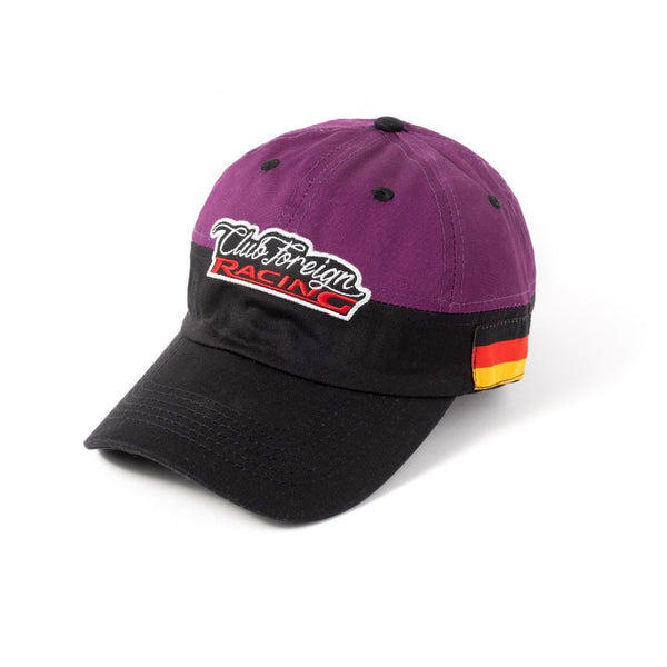 ClubForeign Racing Hat Purple