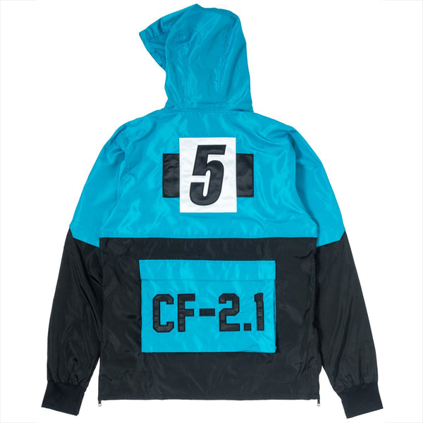 ClubForeign Windbreaker Set CF-2.1 Marine Blue Back