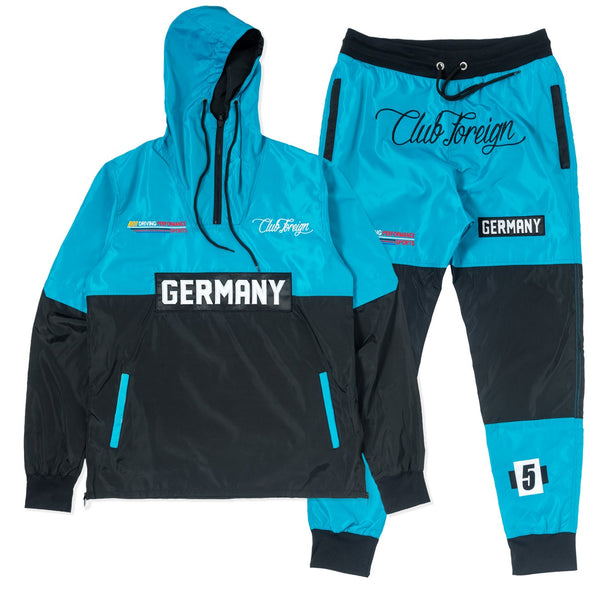 ClubForeign Windbreaker Set CF-2.1 Marine Blue