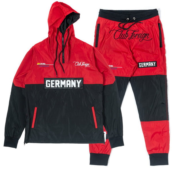 ClubForeign Windbreaker Set CF-2.1 Red