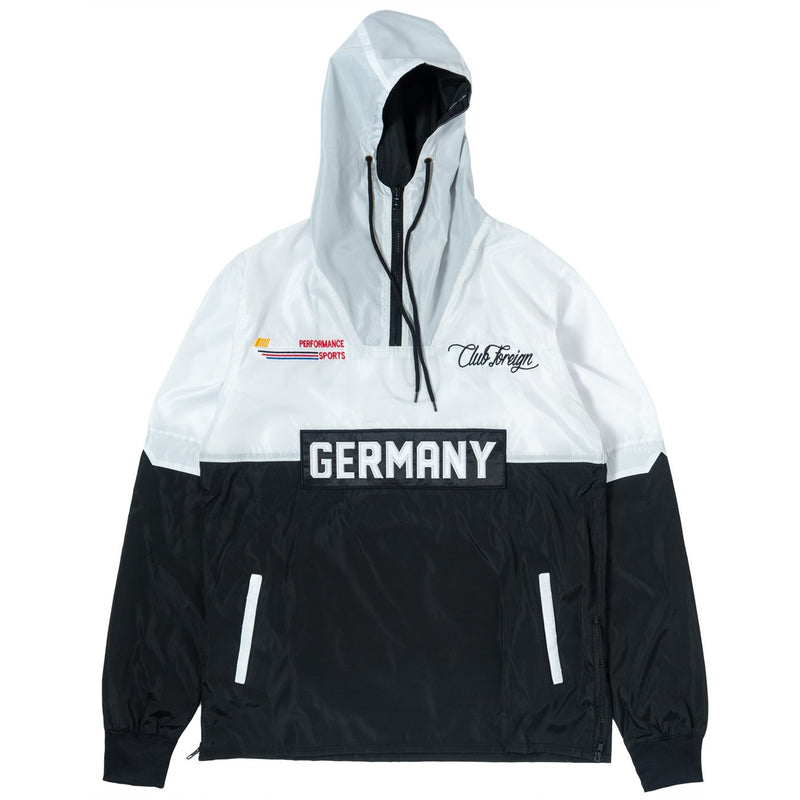 ClubForeign Windbreaker Set CF-2.1 White Jacket Front