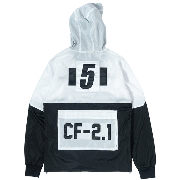 ClubForeign Windbreaker Set CF-2.1 White Jacket Back