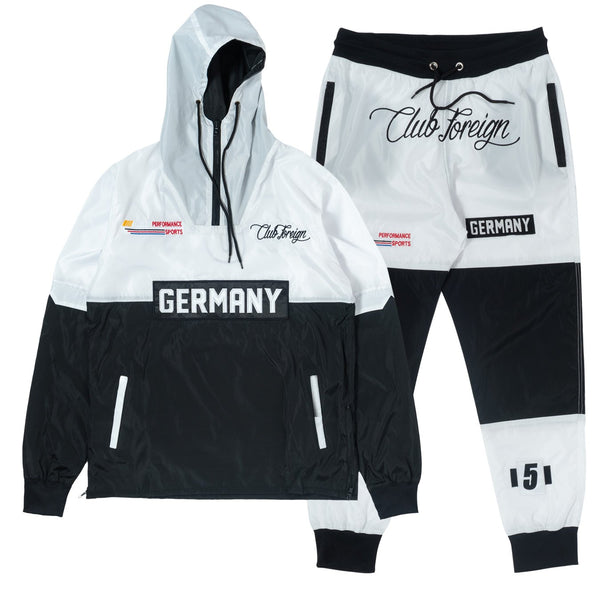 ClubForeign Windbreaker Set CF-2.1 White