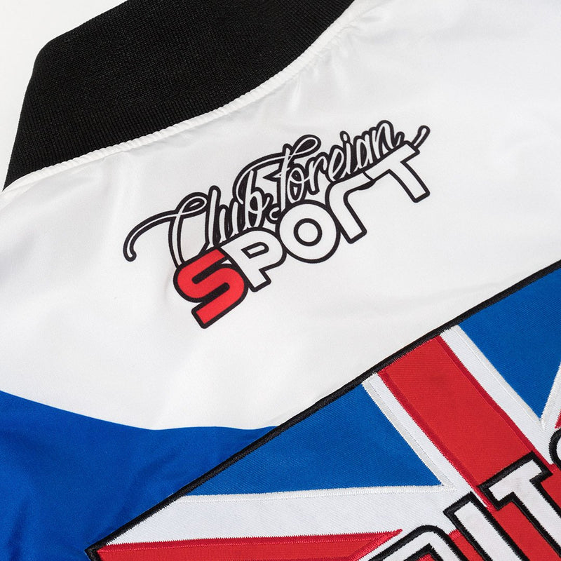 "Club Foreign Three Color Bomber Jacket ""Britain"" - Trends Society"