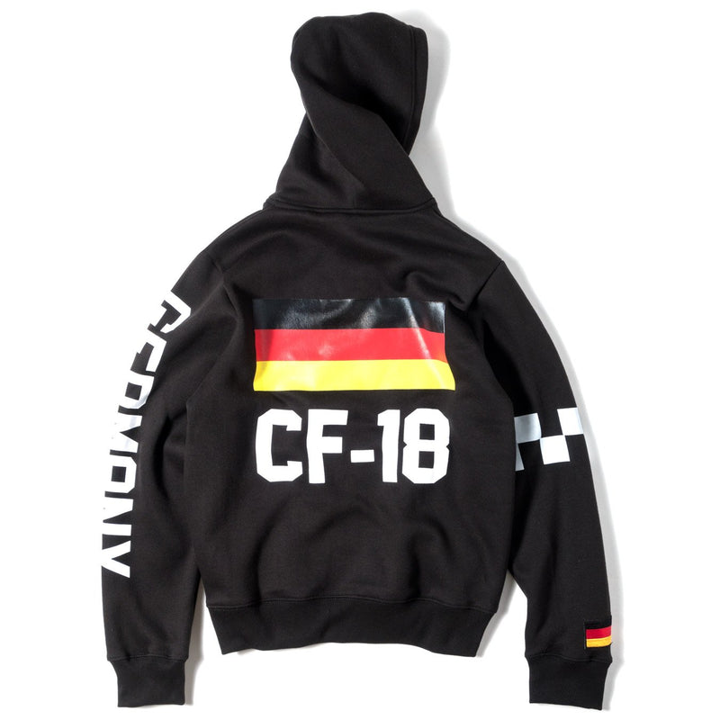 ClubForeign Performance Hoodie Black - Trends Society