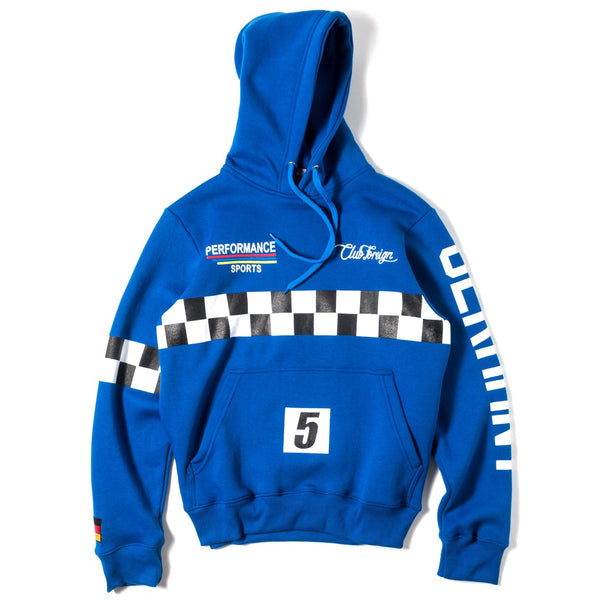ClubForeign Performance Hoodie Blue - Trends Society