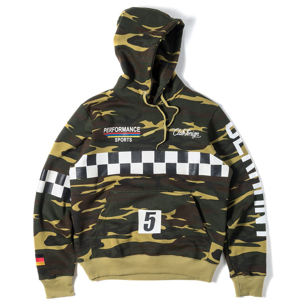 ClubForeign Performance Hoodie Camo - Trends Society