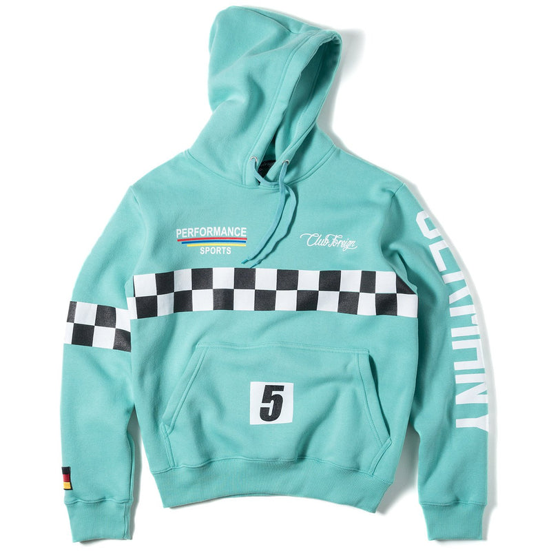 ClubForeign Performance Hoodie Electric Blue - Trends Society