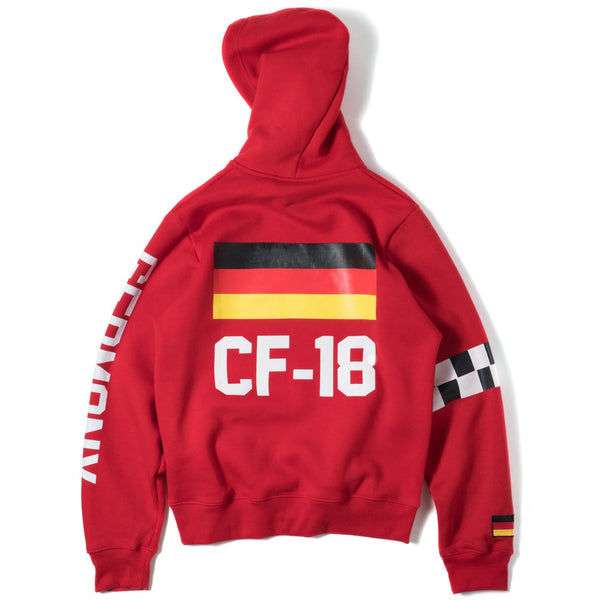 ClubForeign Performance Hoodie Red - Trends Society
