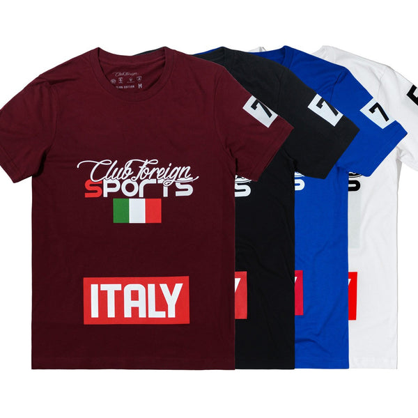 ClubForeign Sports T-Shirt Italy Series CF-17 - Pick Your Color - Trends Society