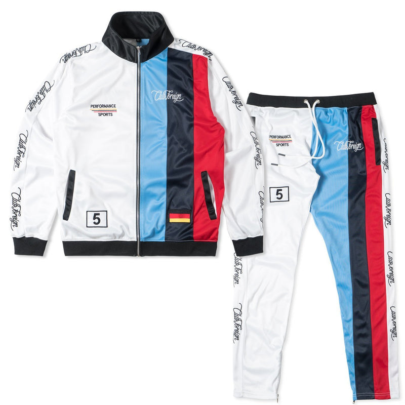 ClubForeign M5 Stripes Tracksuit For Men Jacket and Pants - Trends Society
