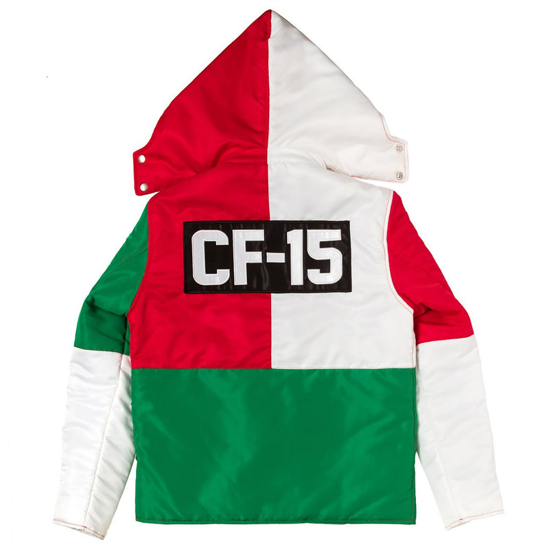 ClubForeign Performance Italy Bubble Jacket with Detachable Hood - Trends Society