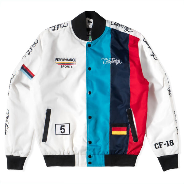 Club Foreign Performance M5 Bomber Jacket - Trends Society