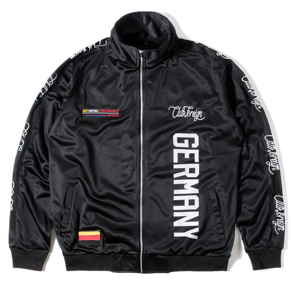 ClubForeign Performance Sports Suit Set Jacket and Pants Germany Black - Trends Society