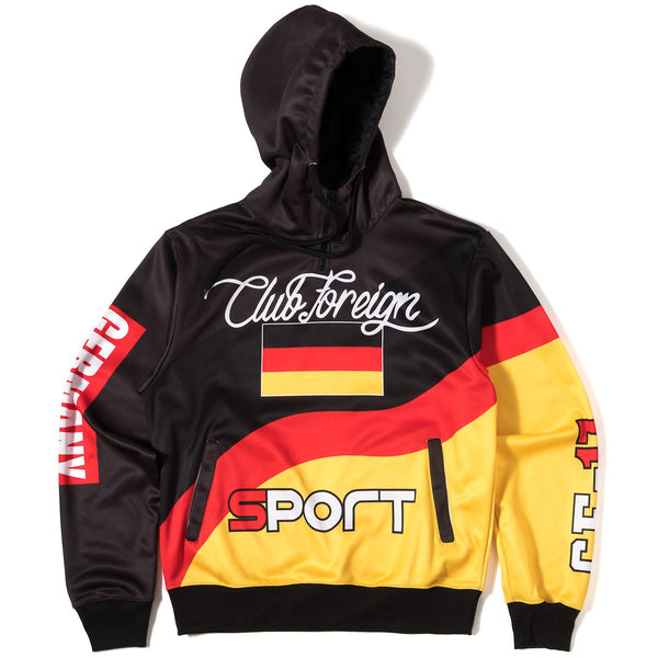 ClubForeign Sport Suit Three Color Set Hoodie and Pants Germany - Trends Society