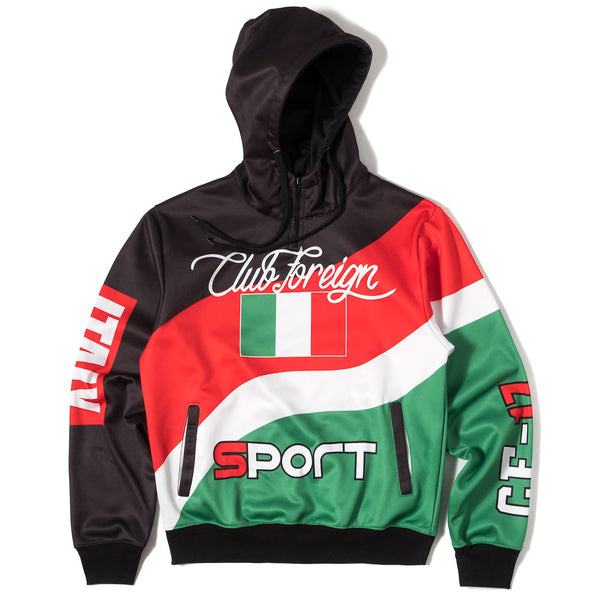 ClubForeign Sport Suit Three Color Set Hoodie and Pants Italy - Trends Society