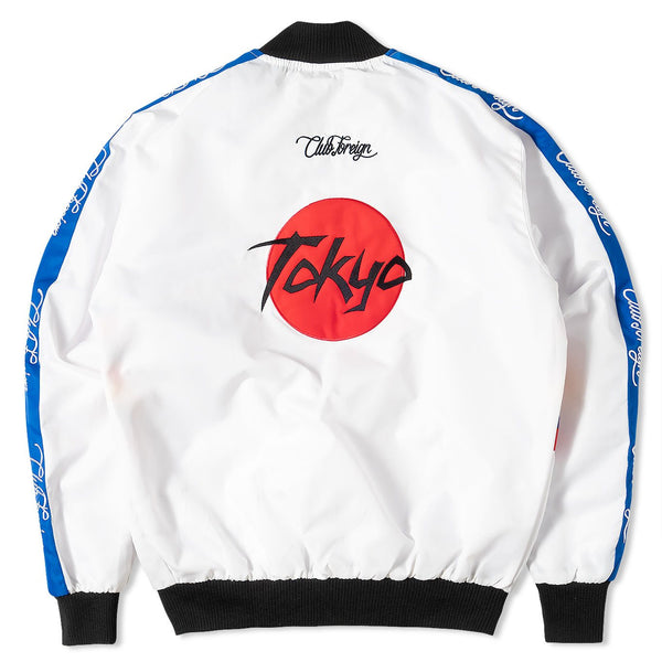 ClubForeign Japan Mafiya Bomber Jacket - Trends Society