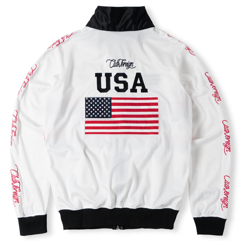 ClubForeign Team USA Tracksuit Jacket and Pants Set - Trends Society