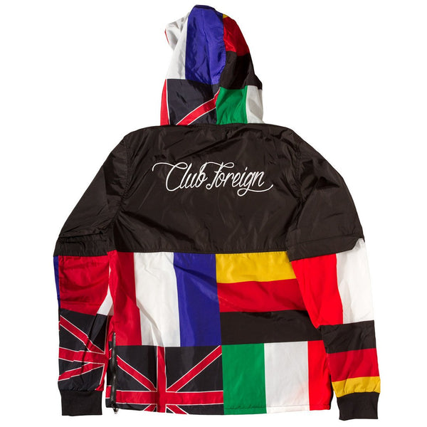 "ClubForeign Windbreaker ""International"" - Trends Society"