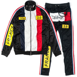 ClubForeign France Tracksuit For Men Jacket and Pants