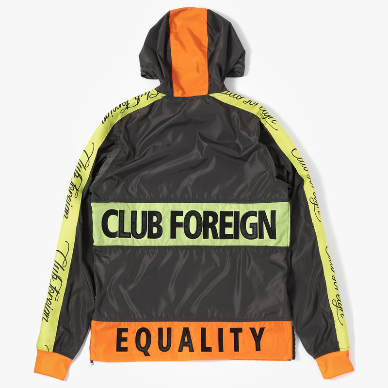 ClubForeign Equality Windbreaker Set Jacket and Pants Grey - Trends Society