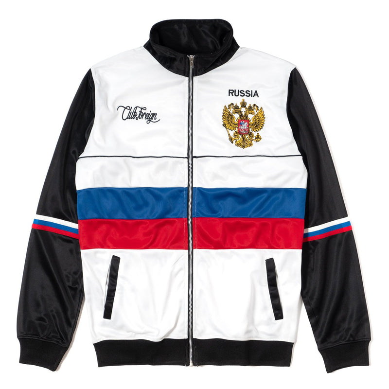ClubForeign Russia Tracksuit For Men Jacket  Front