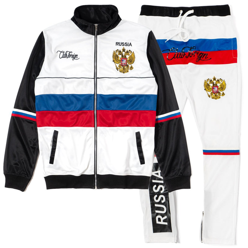 ClubForeign Russia Tracksuit For Men Jacket and Pants