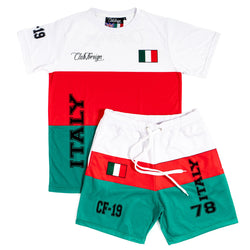 Club Foreign T-shirt and Shorts Set Italy