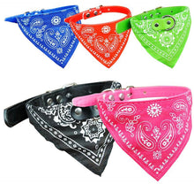 Wholesale 1PC HandsomePet Dog Scarf Collars  Adjustable Puppy Triangular Bandana Pet Dog Cat Tie Collar Free Shipping