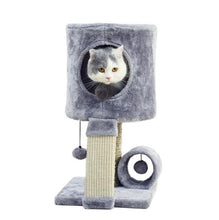 Fast Domestic Delivery Cat Tree Scratcher Animal Funny Scratching Post Climbing Tree Toy Activity Protecting Furniture Pet House
