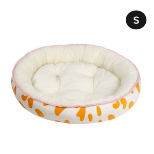 Soft Plush Sleeping Bed House For Small Medium Big Dogs Cats Pet Dog Cat Bed Mat Winter Warm Puppy Nest Cushion