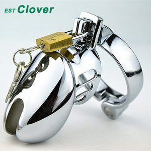 "Male Chastity Cage Cock Lock Chastity Device Penis ring cock Bird Cage 1.5""/1.75""/2""  L127"