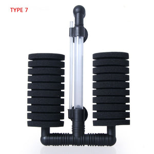 Aquarium Filter Fish Tank Air Pump Skimmer Biochemical Sponge Filter Aquarium filtration filter Aquatic Pets Products