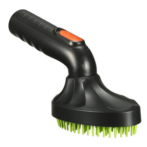 Pet Grooming Brush Loose Puppy Hair Cat Dog Fur Vacuum Cleaner Nozzle Cleaning Black + Green