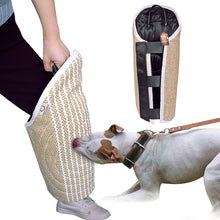 Dog Training Agility Equipment Pet Bite Tug Jute Bite Sleeve For Training Police K9  Young Malinois German Shepherd Rottweiler
