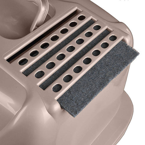 4pcs Portable Cat Litter Box Filter Activated Carbon Deodorant Pad for Home Kitten Litter Box Charcoal Filter for Home