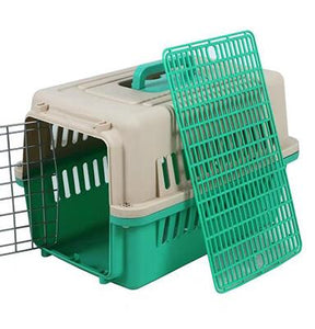 Puppy Dog Air Plane Transport Box Breathable Cat Dog Pet Travel Carrier Box For Cats And Small Dogs Pet Cat Cage WLYANG