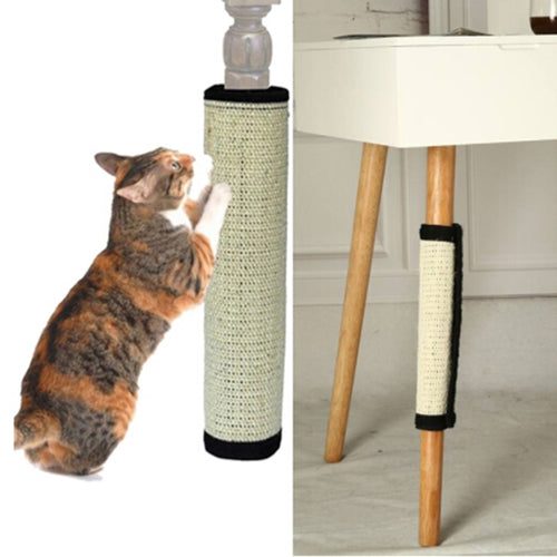 Cat Scratch Pad Board Protecting Furniture Foot Natural Sisal Cat Scratching Post Toy For Cats Tower Climbing Tree New