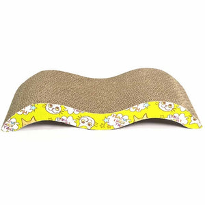 Cat Toys Cat Scratch Board Pad Scratching Posts Kitten Corrugated Paper Pad M Shape Cats Grinding Nail Scraper Mat Mattress