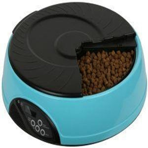 6 Meal Smart Automatic Pet Feeder LCD Display Dog Cat Food Dispenser Timed Recorder Bowl Food Reminder Cat Feeder
