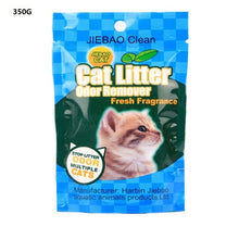 350g/bag Cat Litter Deodorizing Powder Removing Cat Excrement Odor Cat Litter Box Cleaning Supplies