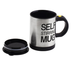 Self Stirring Coffee Cup  - Double Insulated 400 ML Automatic Electric  Smart Mug