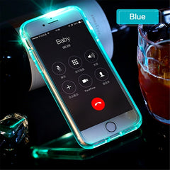 Led Flash Phone Case for iPhone 7 plus, Light Flash Calling notic