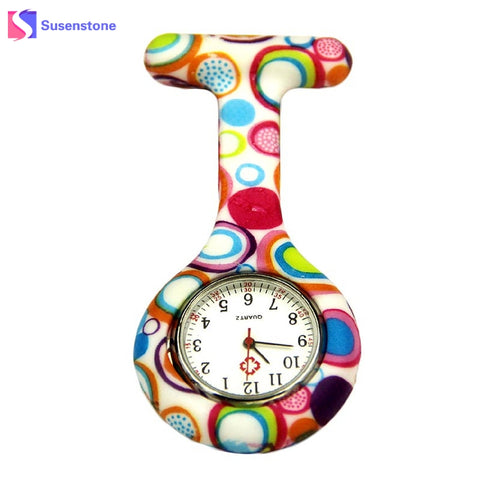 Hanging Fashion Unisex Rubber Silicon Pocket Watch - Necessities Australia