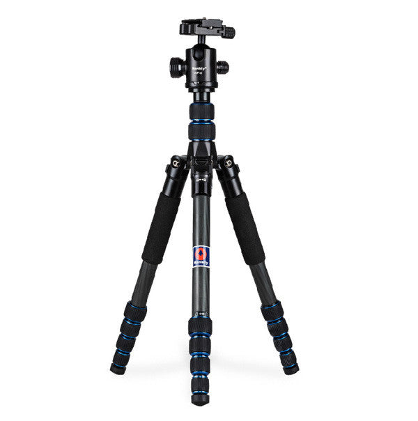 Professional Carbon Fibre Camera Tripod Stand for Canon, Nikon, Max Load 15kg