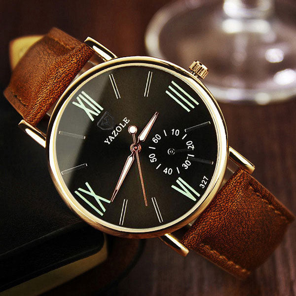 YAZOLE Wristwatch 2018 - Top Brand Luxury Quartz Watch for Men
