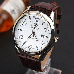 YAZOLE Wristwatch - Top Brand, Luxury Quartz Watch With Date