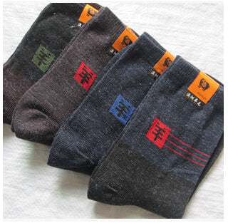 Thick Wool Socks - 10 Pairs/lot, Size 39-44