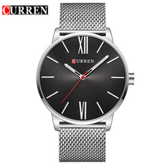 Curren 2018 Men's Luxury Quartz Gold Mesh Steel Waterproof Watch - Necessities Australia